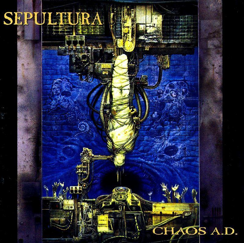 SEPULTURA/CHAOS A.D. セパルトゥラ 93年作 MAX CAVALERA
