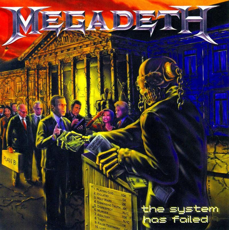MEGADETH/THE SYSTEM HAS FAILED メガデス 04年作 ザ・システム・ハズ・フェイルド