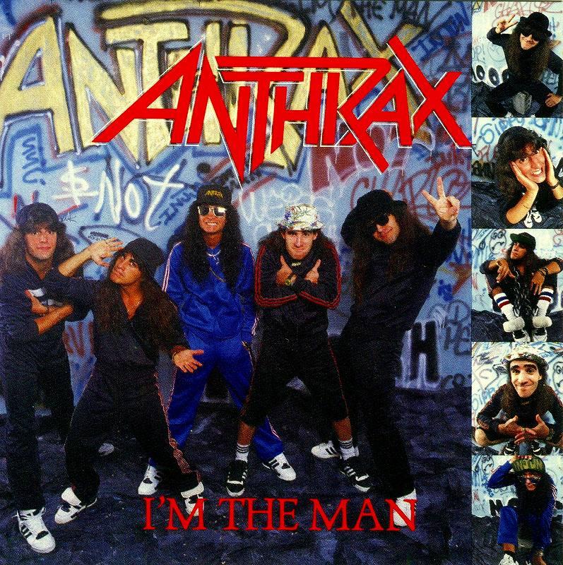 ANTHRAX/I'M THE MAN アンスラックス アイム・ザ・マン 6曲入りEP