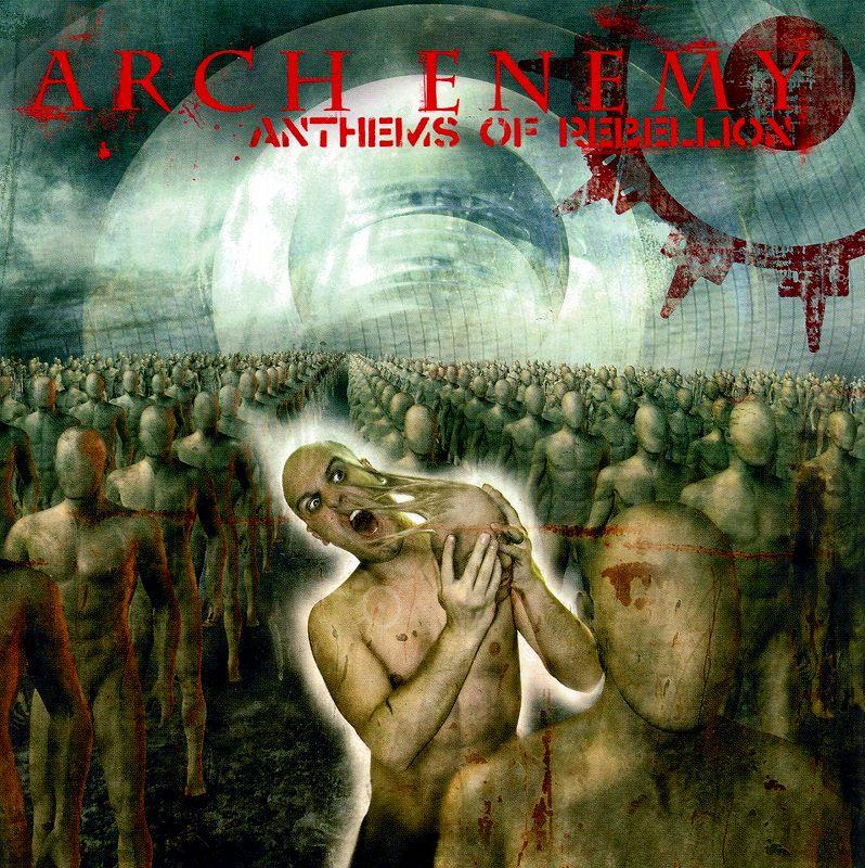 ARCH ENEMY/ANTHEMS OF REBELLION 03年作 国内初回限定盤 2枚組