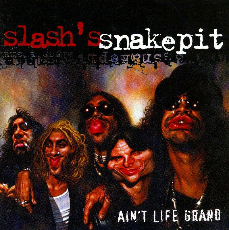 SLASH'S SNAKEPIT/AIN'T LIFE GRAND 2000年作 国内盤 ステッカー付