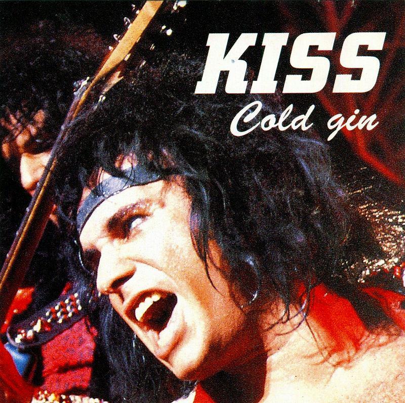 KISS/COLD GIN キッス 84年ライヴ ストックホルム公演 エリック・カー在籍時