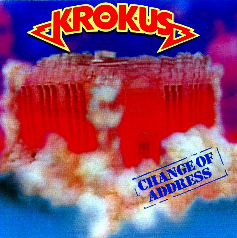 KROKUS/CHANGE OF ADDRESS クロークス チェンジ・オブ・アドレス 86年作 新品