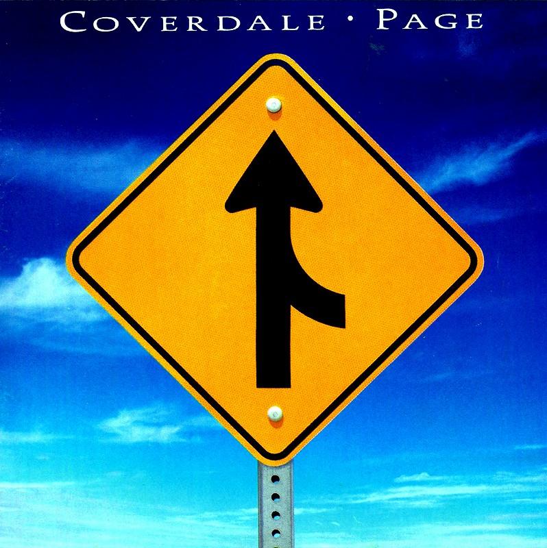COVERDALE PAGE/カヴァーデイル・ペイジ 国内盤 WHITESNAKE LED ZEPPELIN