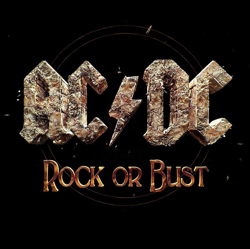 AC/DC ROCK OR BUST ロック・オア・バスト 2014年作 3Dジャケ仕様 デジパック