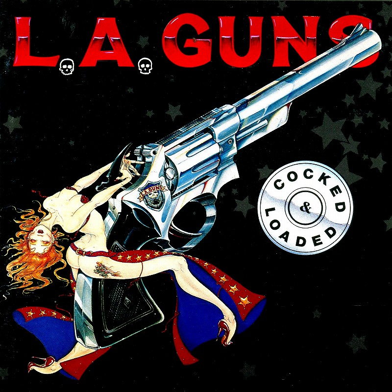 L.A. GUNS/COCKED & LOADED L.A.ガンズ 89年作 国内盤