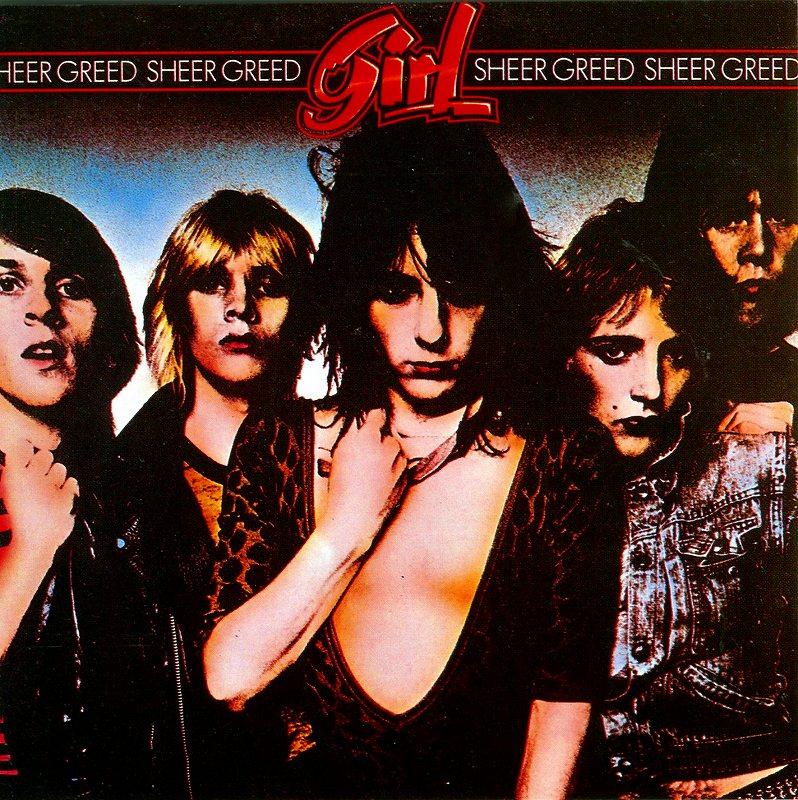 GIRL/SHEER GREED 80年作 ガール シアー・グリード N.W.O.B.H.M.名盤