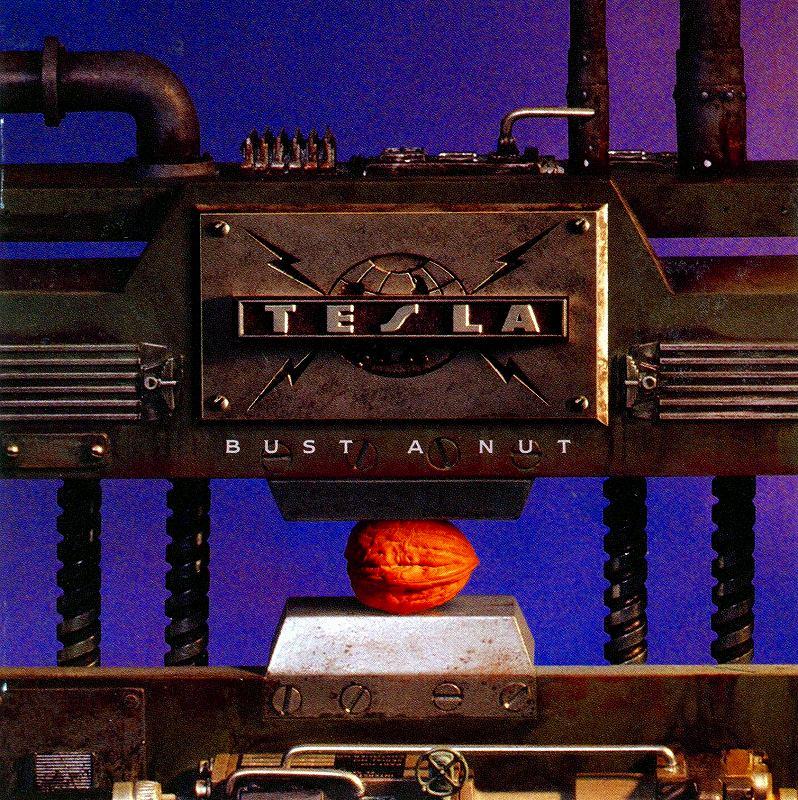 TESLA/BUST A NUT テスラ バスト・ア・ナット 1994年作 国内盤