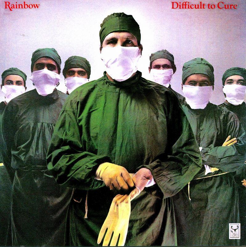 RAINBOW/DIFFICULT TO CURE アイ・サレンダー レインボー 81年作 リマスター盤