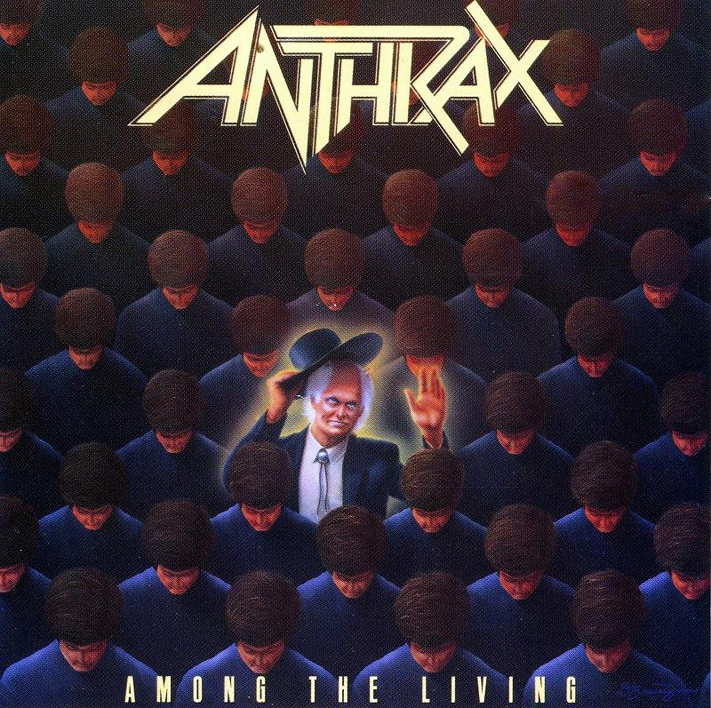 ANTHRAX/AMONG THE LIVING アンスラックス アマング・ザ・・リヴィング