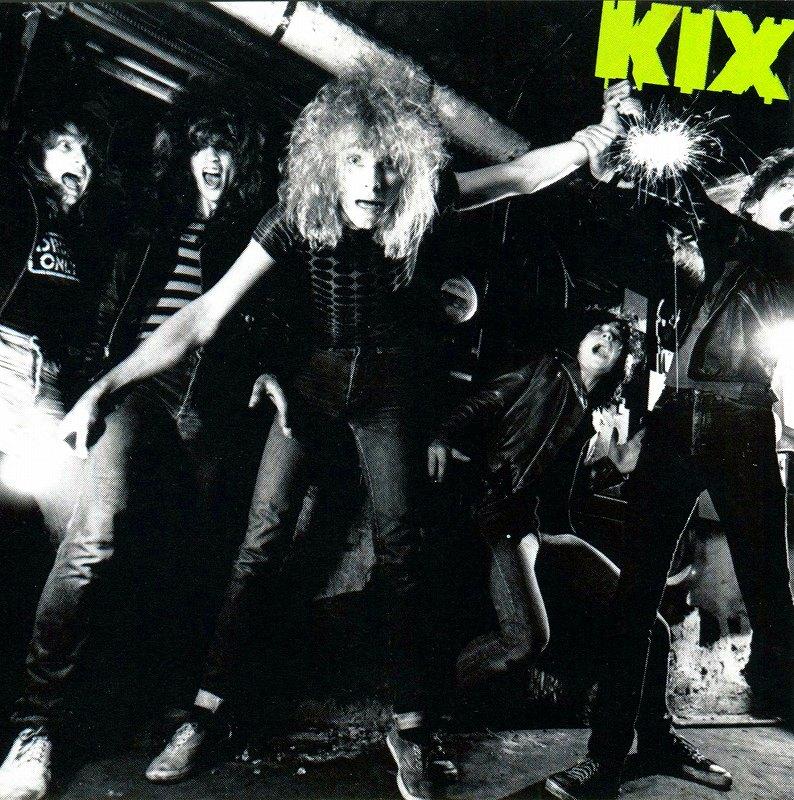KIX/KIX キックス 81年作 デビュー・アルバム ハード・ポップ隠れ名盤 国内盤