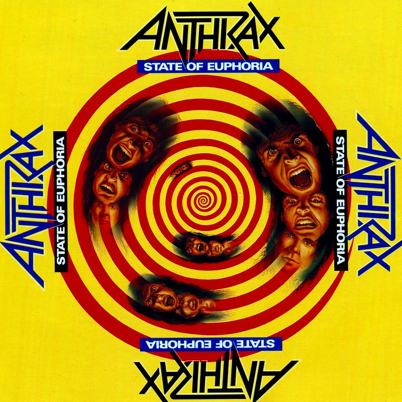 ANTHRAX/STATE OF EUPHORIA アンスラックス 国内盤 88年作