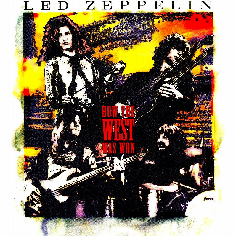 LED ZEPPELIN/HOW THE WEST WAS WON 伝説のライヴ 3枚組