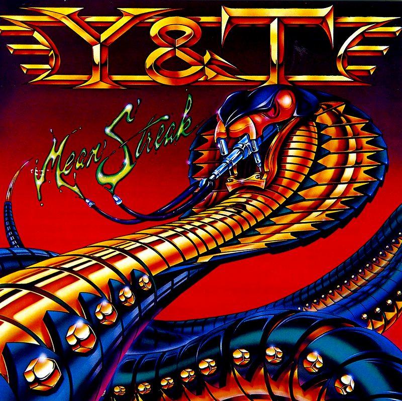 Y&T/MEAN STREAK 83年作 ミーン・ストリーク 国内盤 通算5作目