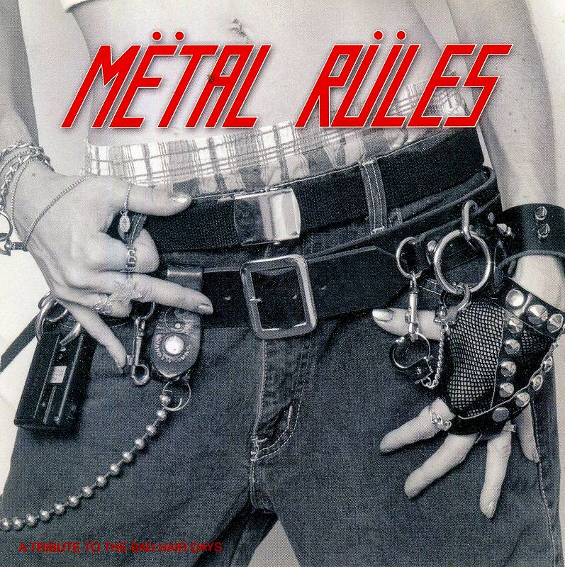 """V.A./METAL RULES """"TRIBUTE TO THE BAD HAIR DAYS"""" 国内盤"""