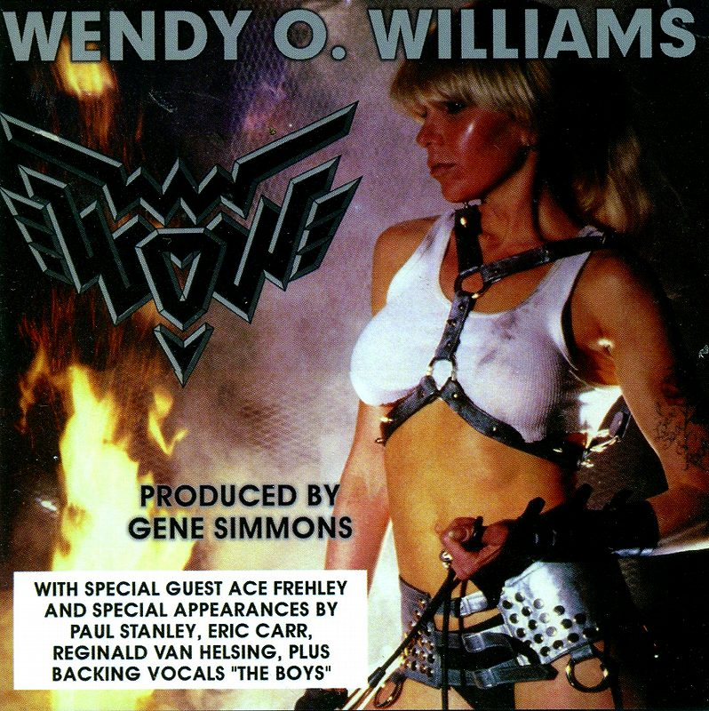 WENDY O. WILLIAMS/WOW 84年作 KISS PLASMATICS ジーン・シモンズ 新品
