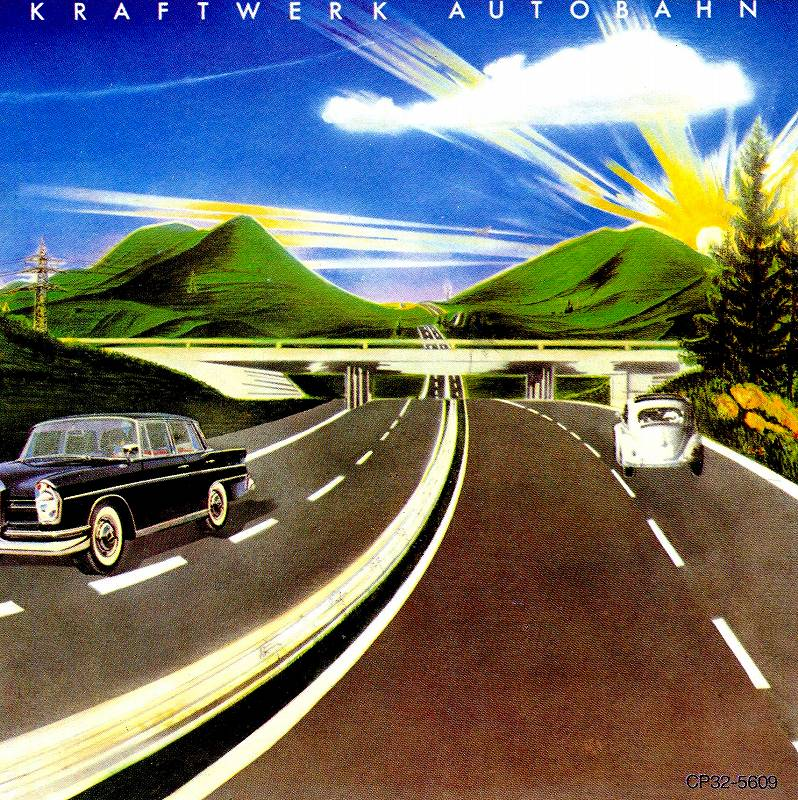 KRAFTWERK/AUTOBAHN クラフトワーク アウトバーン 74年作 国内旧規格盤
