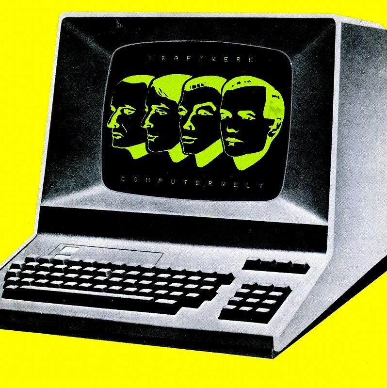 KRAFTWERK/COMPUTER WORLD クラフトワーク COPUTERWELT ドイツ語盤