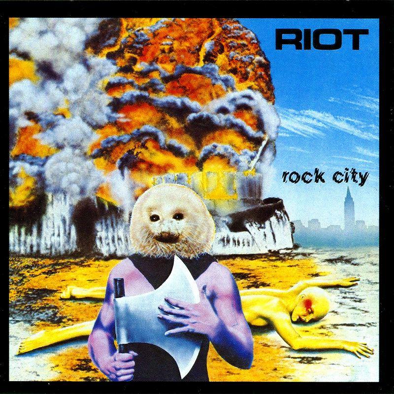 RIOT/ROCK CITY ライオット ロック・シティ 旧邦題 怒りの廃墟 リマスター盤