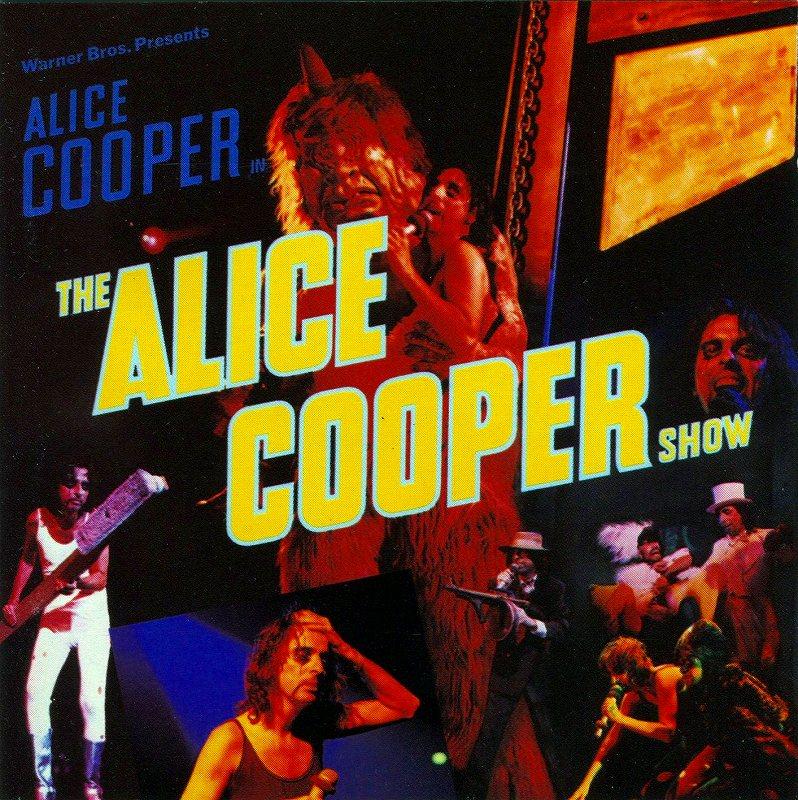 ALICE COOPER/THE ALICE COOPER SHOW ライヴ!! アリス・クーパー・ショー