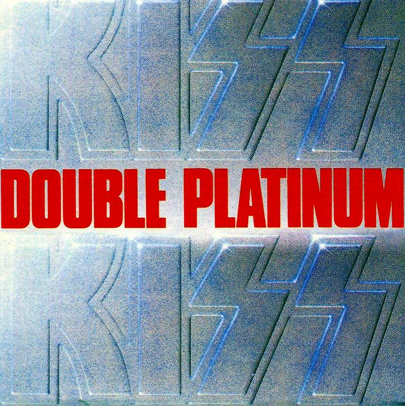 KISS/DOUBLE PLATINUM キッス ダブル・プラチナム 国内紙ジャケ盤 完全限定盤