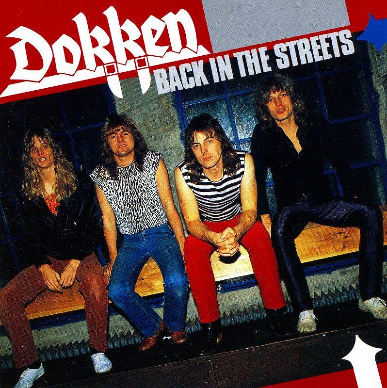 DOKKEN/BACK IN THE STREETS 79年作 ドッケン バック・イン・ザ・ストリーツ