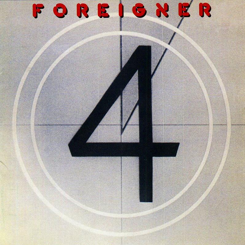 FOREIGNER/4 フォリナー 81年作 大ヒット作 国内リマスター盤 ガール・ライク・ユー