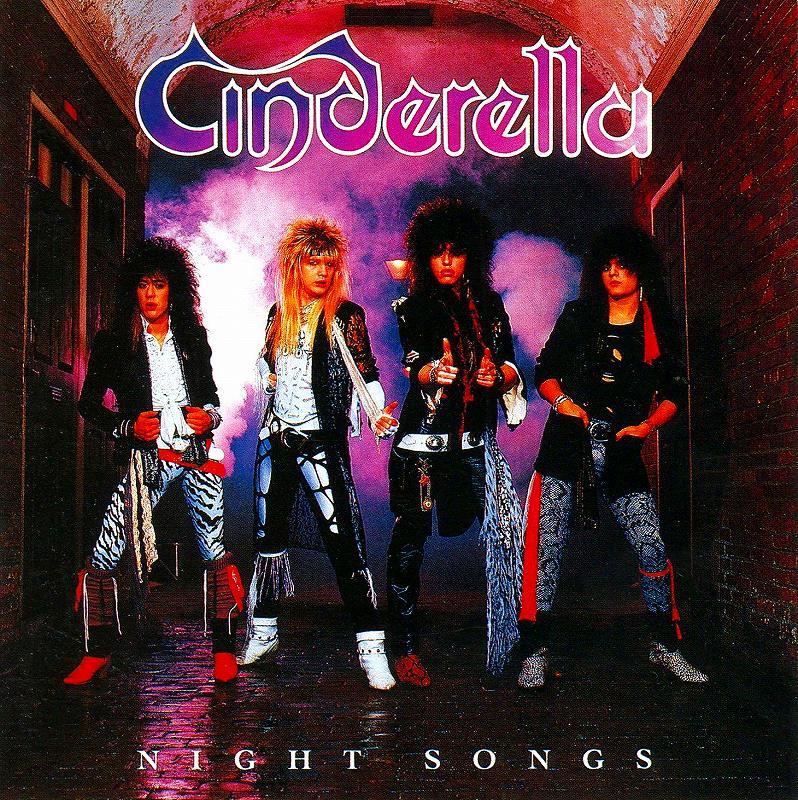 CINDERELLA/NIGHT SONGS 86年作 シンデレラ ナイト・ソングス 国内盤