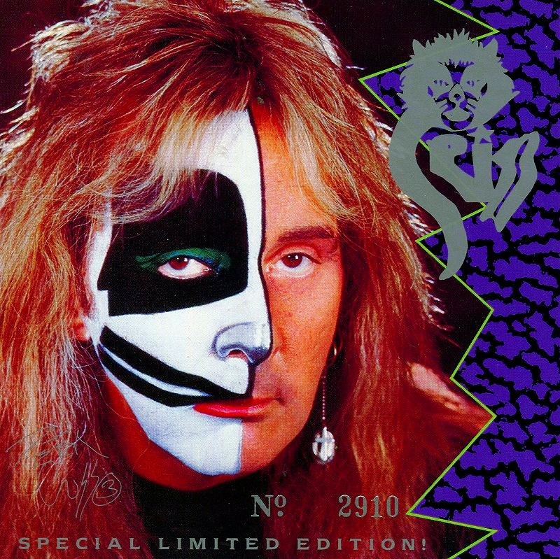 CRISS/クリス PETER CRISS キッス 5曲入りミニ・アルバム LIMITED EDITION
