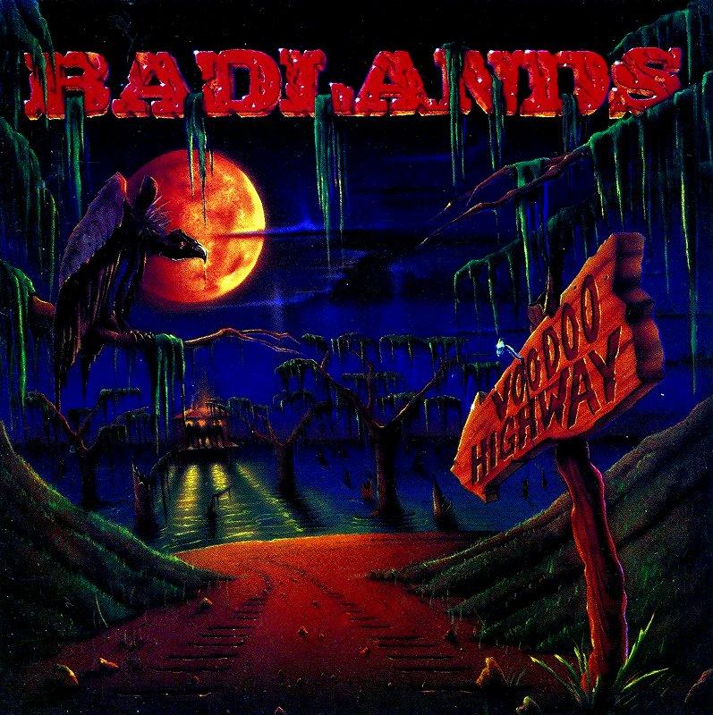 BADLANDS/VOODOO HIGHWAY バッドランズ 91年作 ヴードゥー・ハイウェイ 国内盤