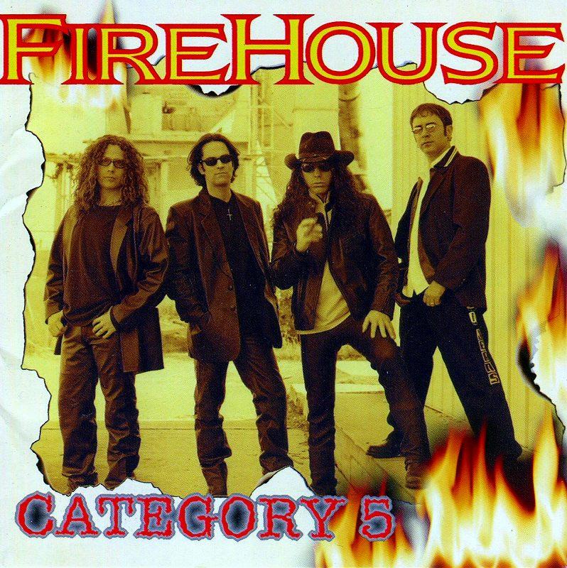 FIREHOUSE/CATEGORY 5 ファイアーハウス カテゴリー 5 98年作 国内盤