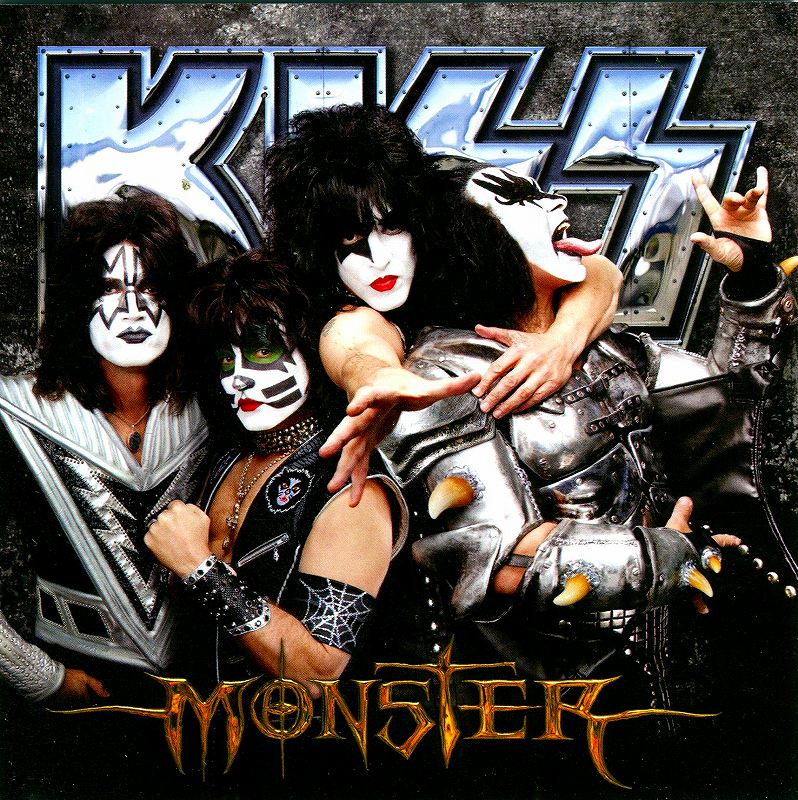 KISS/MONSTER キッス モンスター 地獄の獣神 2012年作 最新スタジオ盤