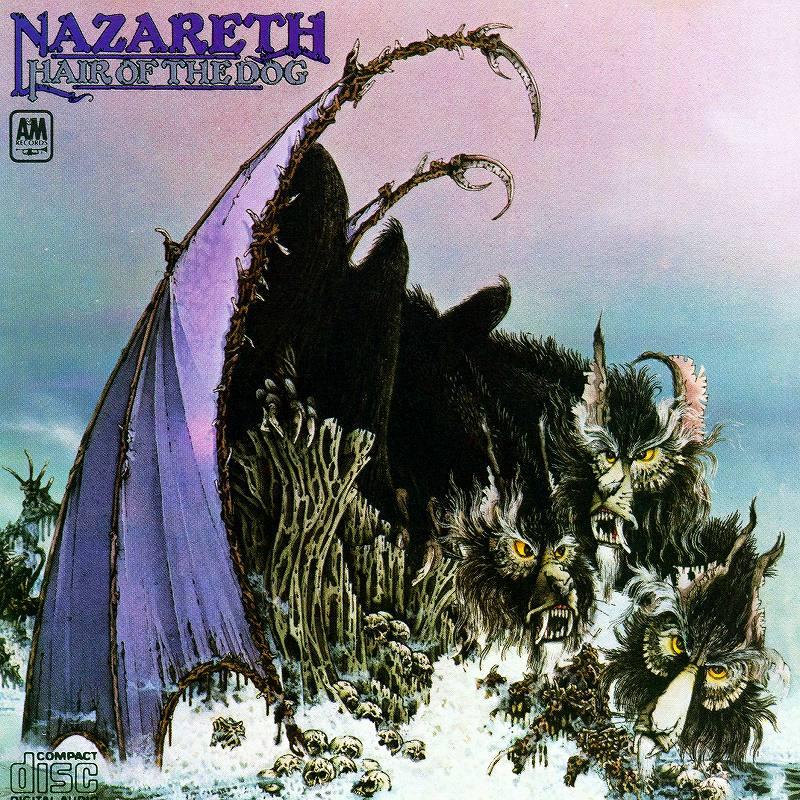 NAZARETH/HAIR OF THE DOG ナザレス 邦題 人食い犬 75年作 新品
