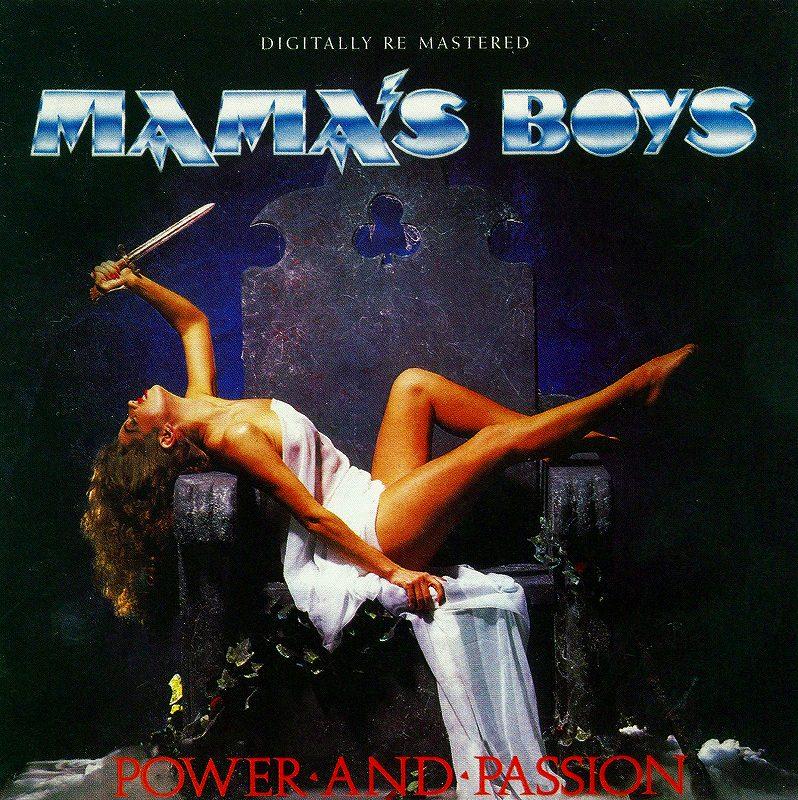 MAMA'S BOYS/POWER AND PASSION ママズ・ボーイズ リマスター盤 新品