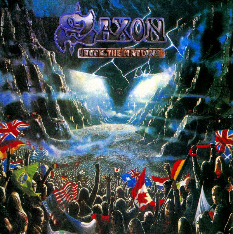 SAXON/ROCK THE NATIONS サクソン ロック・ザ・ネイションズ 86年作