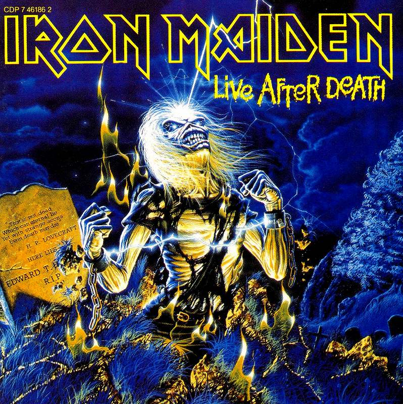 IRON MAIDEN/LIVE AFTER DEATH アイアン・メイデン 死霊復活