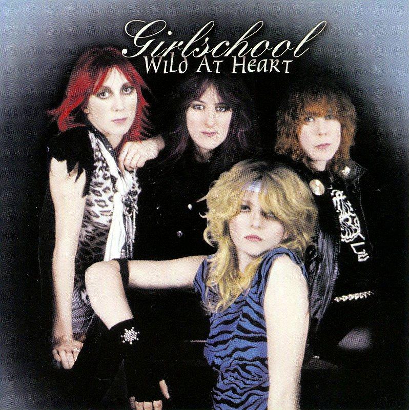 GIRLSCHOOL/WILD AT HEART ガールスクール ベスト盤 NWOBHM