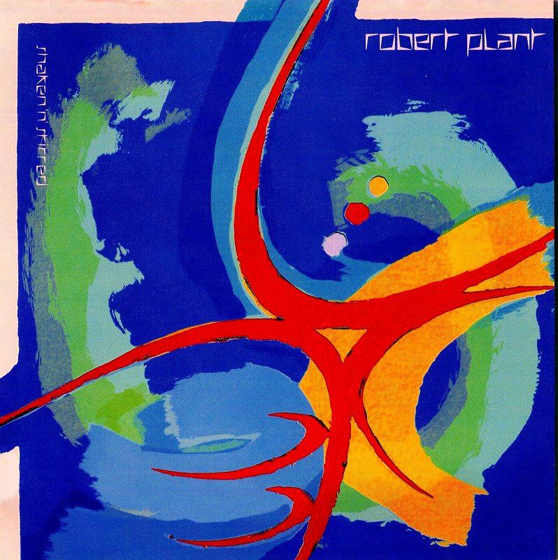 ROBERT PLANT/SHAKEN 'N' STIRRED ロバート・プラント 85年作 リマスター盤