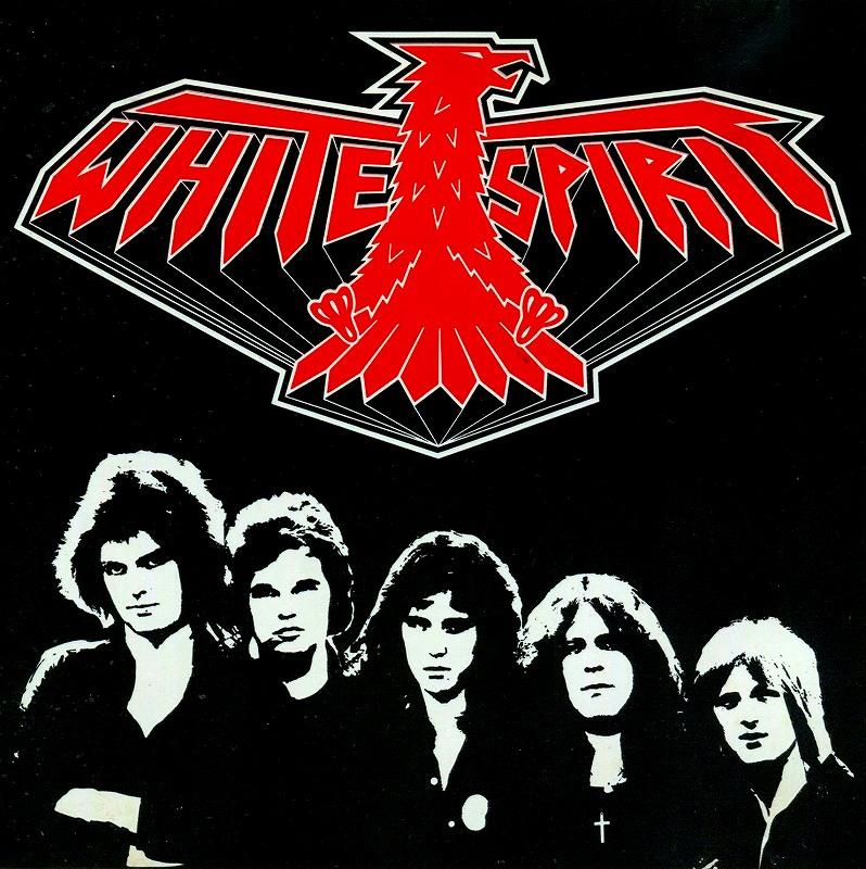WHITE SPIRIT/MIDNIGHT CHASER ホワイト・スピリット 80年作 リプロ盤 ヤニック・ガーズ