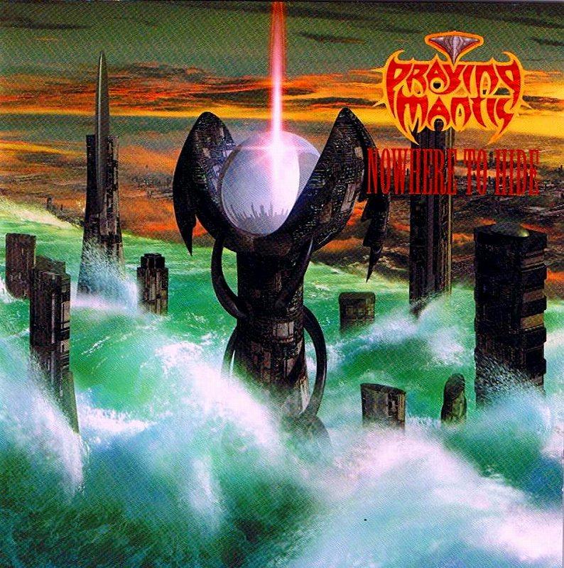 PRAYING MANTIS/NOWHERE TO HIDE 国内盤 2000年作 美メロ炸裂