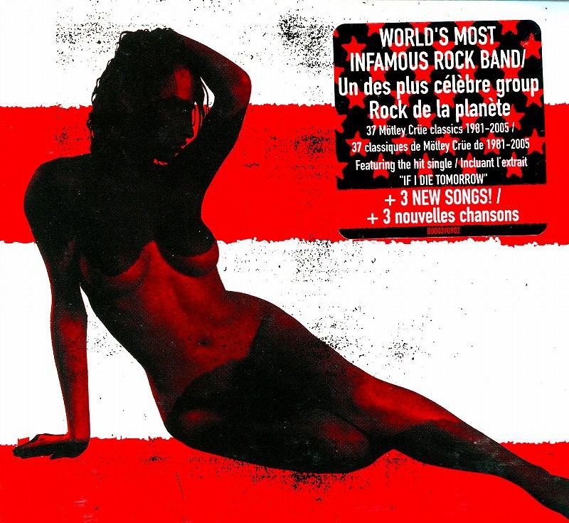 MOTLEY CRUE/レッド・ホワイト&クルー モトリー・クルー 国内盤