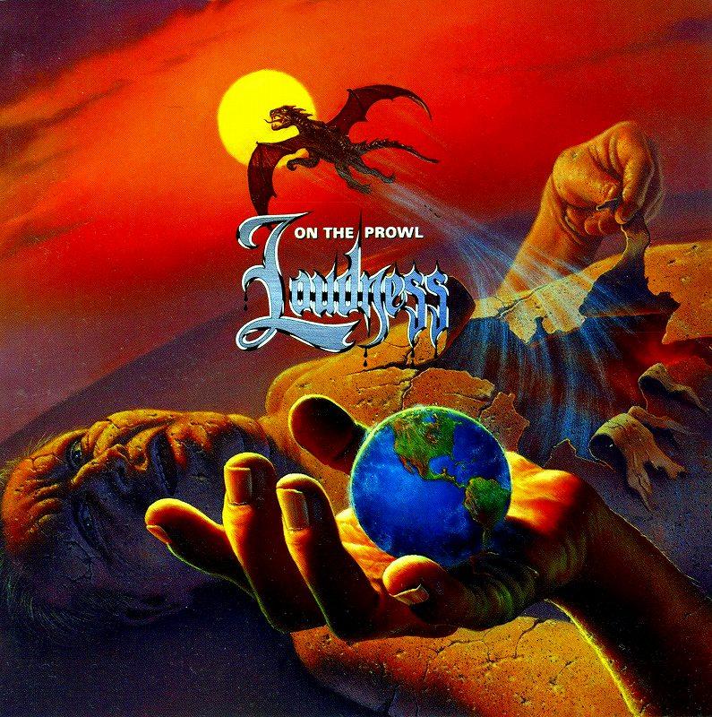 LOUDNESS/ON THE PROWL ラウドネス オン・ザ・プロール 初回盤 91年作