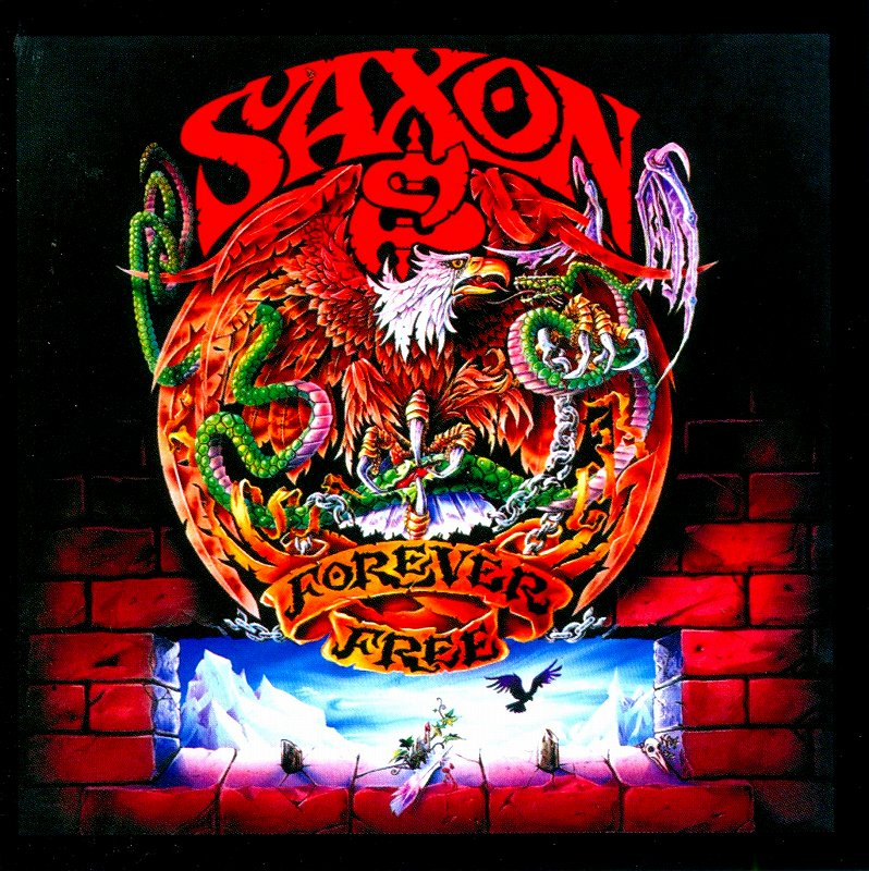 SAXON/FOREVER FREE サクソン フォーエヴァー・フリー 93年作