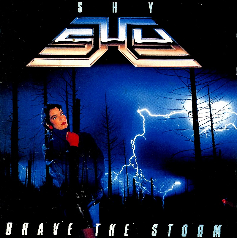 SHY/BRAVE THE STORM シャイ ブレイヴ・ザ・ストーム 85年作 国内盤
