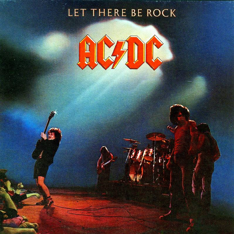 AC/DC LET THERE BE ROCK ロック魂 77年作 国内リマスター盤 デジパック