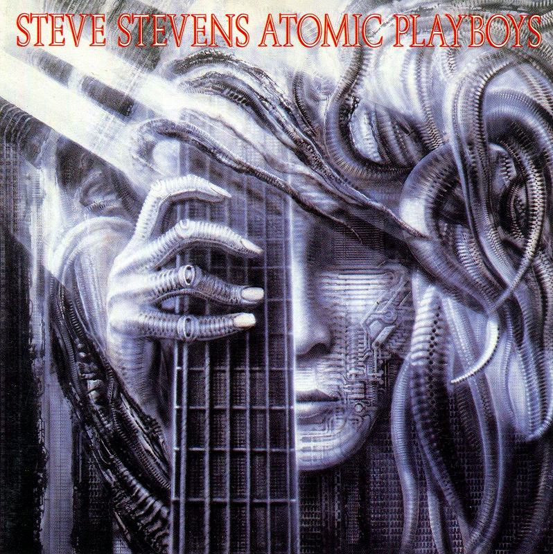 STEVE STEVENS ATOMIC PLAYBOYS/アトミック・プレイボーイズ 89年作 国内盤