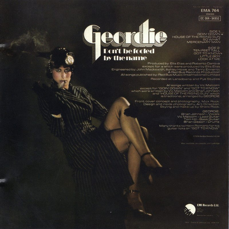 GEORDIE/DON'T BE FOOLED BY THE NAME ジョーディー2 BRIAN JOHNSON