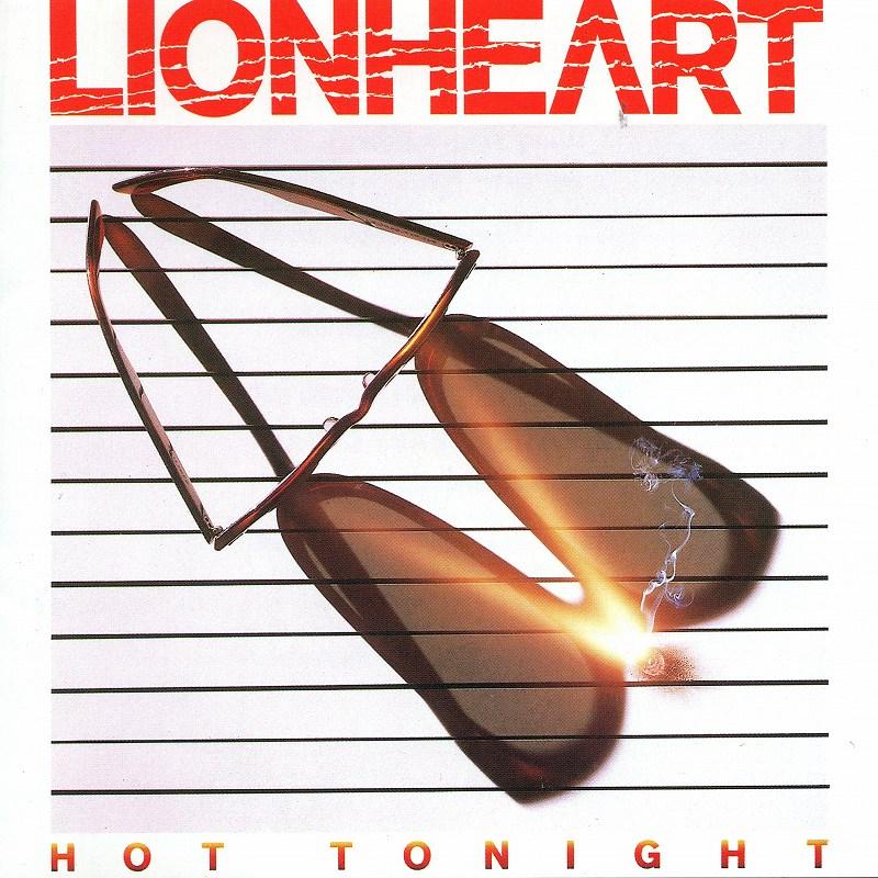LIONHEART/HOT TONIGHT ライオンハート ホット・トゥナイト 84年作 国内盤