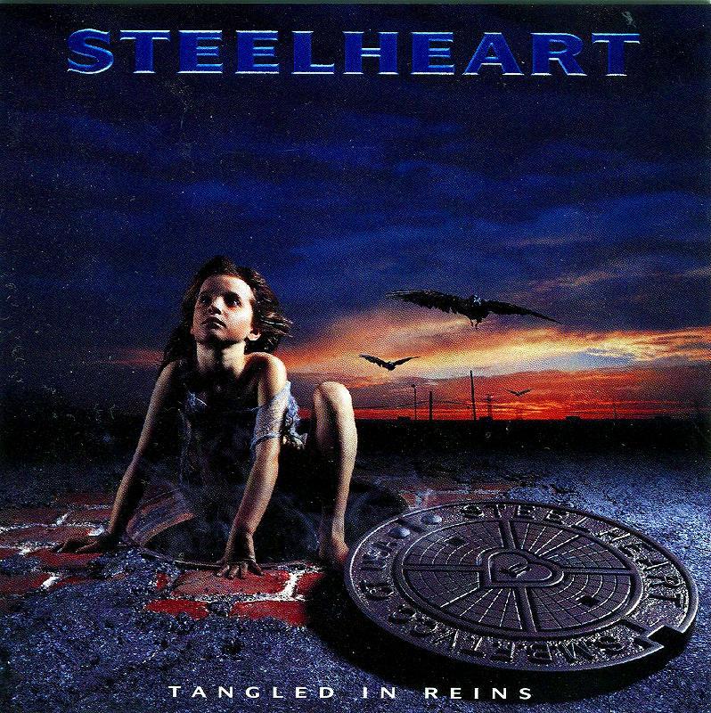 STEELHEART/TANGLED IN REINS スティールハート 国内盤 ステッカー付