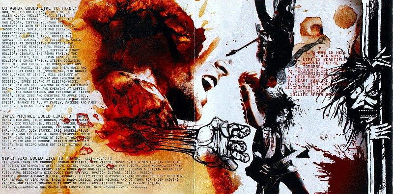 SIXX:A.M./THE HEROIN DIARIES SOUNDTRACK ニッキー・シックス 2007年作